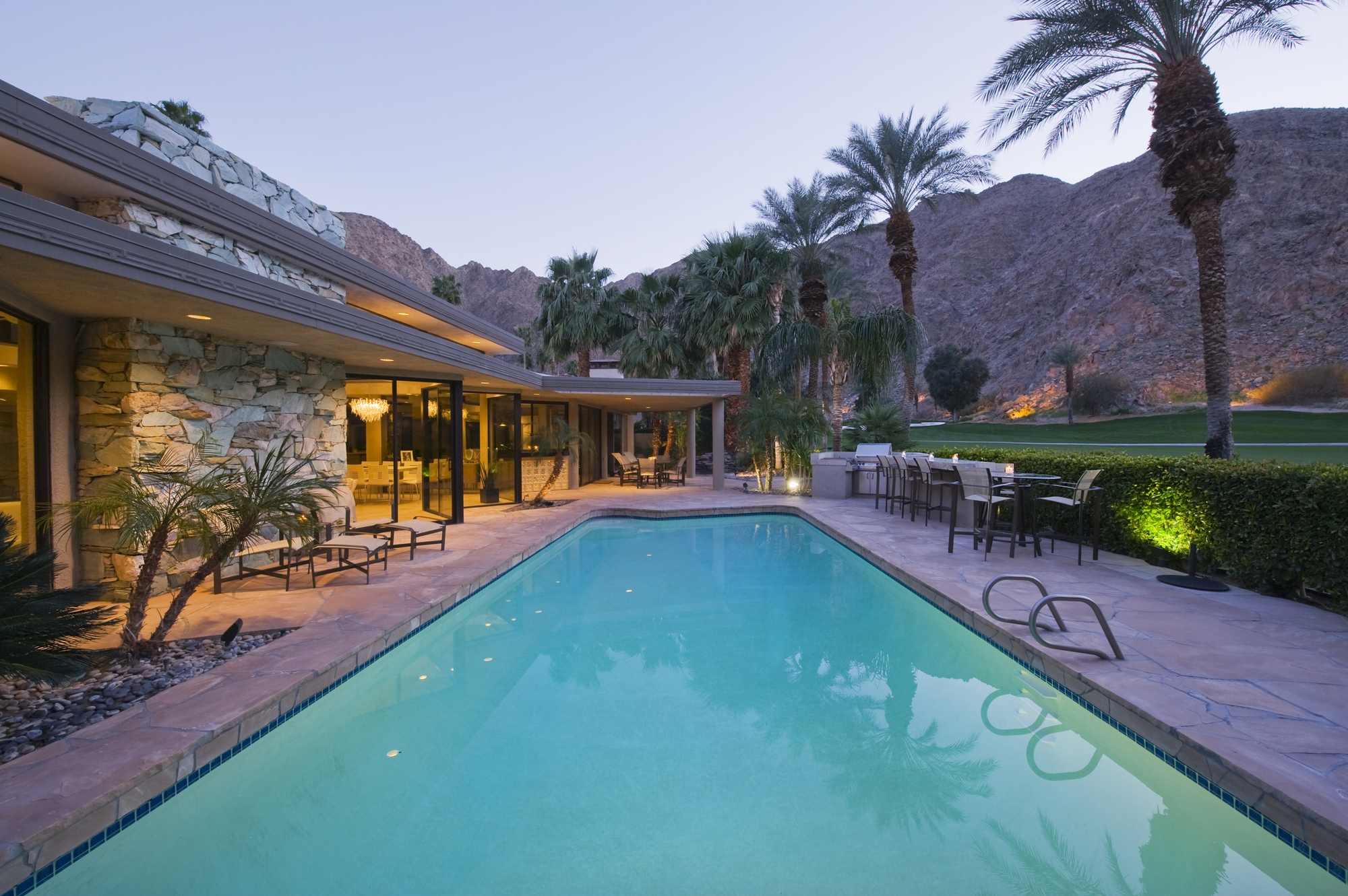Swimming pool exterior